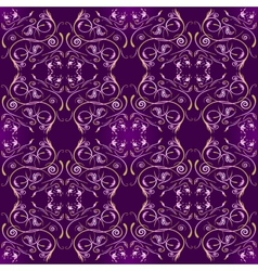 Seamless pattern in islamic style vector image