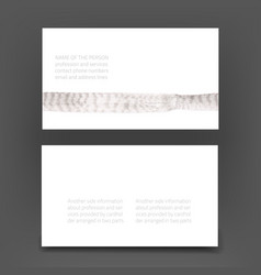 business art card vector image vector image