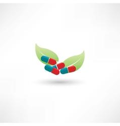 eco tablets vector image vector image