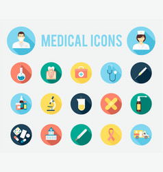 Medical tools and equipment vector