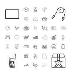 37 symbol icons vector