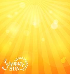 Bright square sunny background vector image