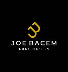 Jb logo vector