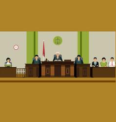 Judge room vector