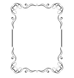 ornamental frame vector image