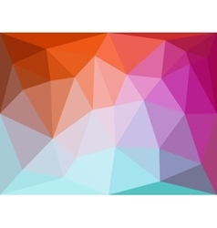 Polygonal geometric abstract background in vector