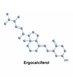Pyridoxal phosphate vitamin B6 vector image