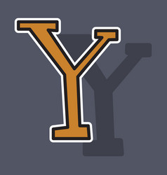 Sticker yahoo icon social company logo search vector
