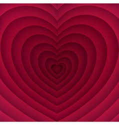 Abstract Background with Heart vector image vector image