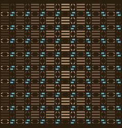 brown geometric pattern vector image vector image