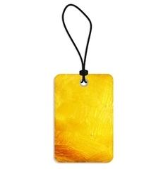 Golden Old Paper Grunge Label vector image