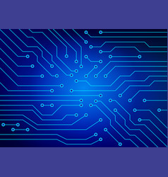 the abstract image of electrical circuits used in vector image vector image