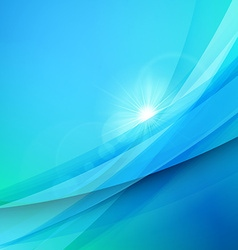 Abstract blue background Summer background Wave vector