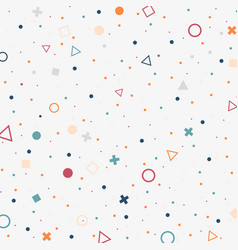 abstract of colorful spread dots background with vector image