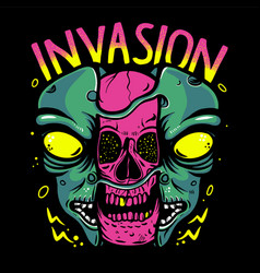 Alien invasion vector