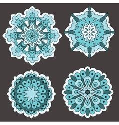 Arabesques Decorative element vector image