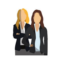 Business women icon vector