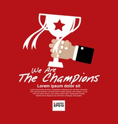 Champions Concept EPS10 vector image