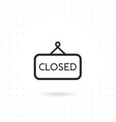 close sign icon vector image