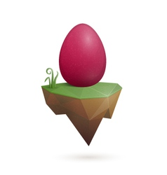 Easter Egg Holder vector