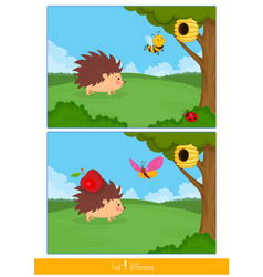 Educational children game logic for kids matching vector