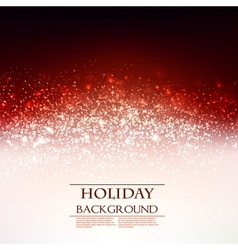 Elegant Christmas Red background with snowflakes vector