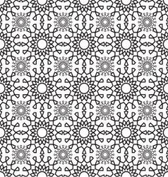 Lace pattern geometric seamless vector