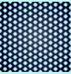 seamless geometric pattern on dark blue background vector image
