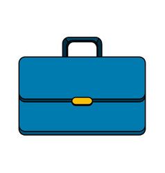 suitcase to save business documents vector image