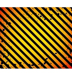 Grunge Black and Orange Surface as Warning or vector image
