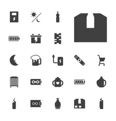 22 full icons vector