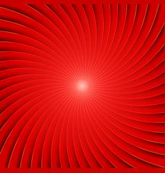 Abstract red spiral background vector