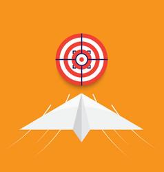 Business goal success concept vector