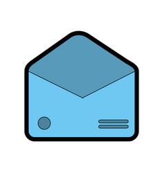 envelope empty paper vector image