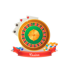 gaming casino devils books striped chips vector image