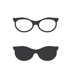 Glasses symbol icon design vector