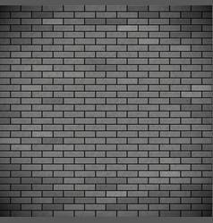 Grey brick wall industrial construction vector