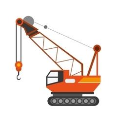 industrial crane icon vector image