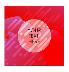 red and white mix color background with typography vector image