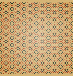 seamless geometric pattern on brown background vector image