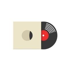 Record vinyl album cover vector image