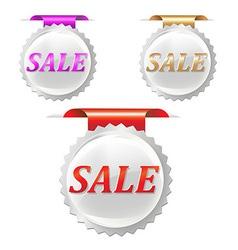 Sale Stickers Set vector image