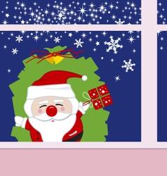 Santa claus design for christmas vector image vector image