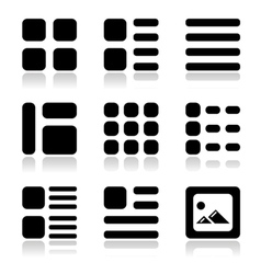 Gallery view Display vector image vector image