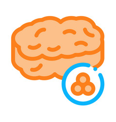 caviar nutrition icon outline vector image