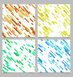 colored abstract diagonal stripe pattern vector image
