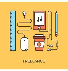 Freelance vector