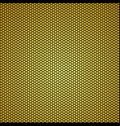 Gold carbon fiber background seamless patterns vector