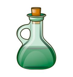 oil bottle icon cartoon style vector image