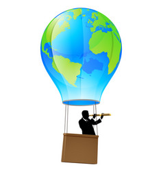 Searching for business opportunity vector